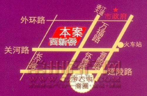 凯纳商务广场位置图