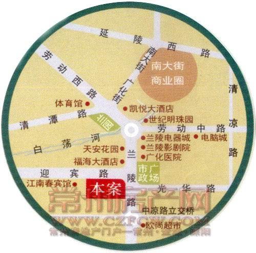 江南佳园位置图