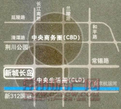 新城长岛位置图