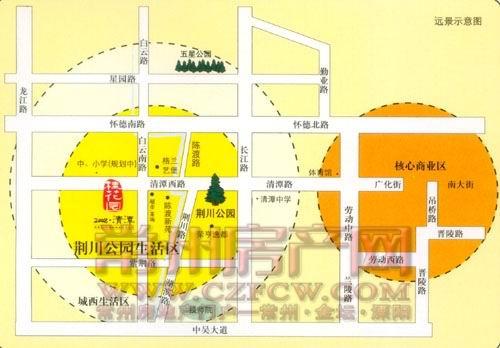 桂花园位置图
