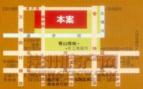 青山湾位置图