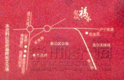 龙城福第位置图