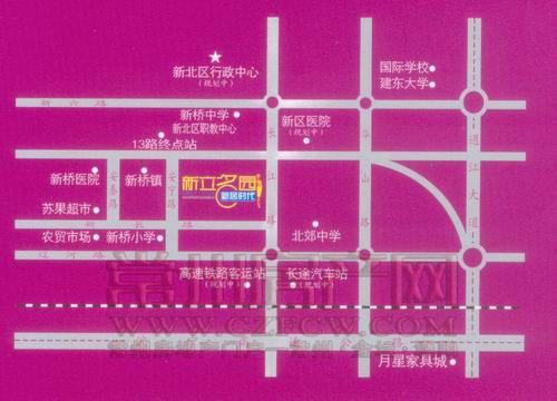 新立名园位置图