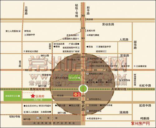 誉天商务公寓位置图