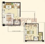 誉天商务公寓户型图