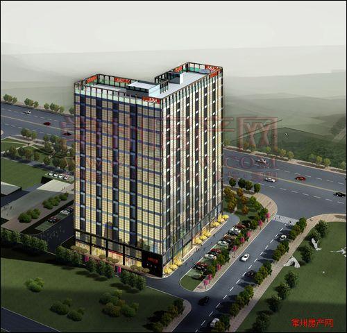 誉天商务公寓楼盘图