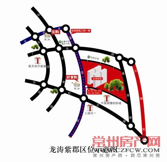 龙涛紫郡位置图