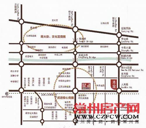 新城域位置图