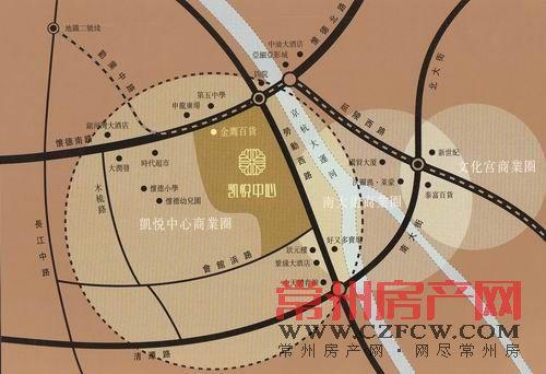 凯悦中心位置图