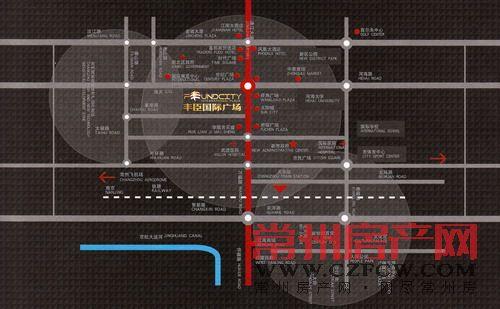 丰臣国际广场位置图