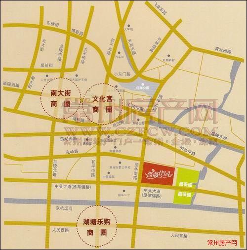 蔷薇家园位置图