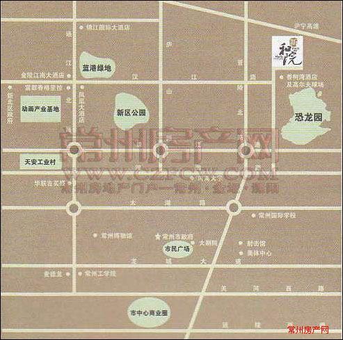 香树湾花园别墅位置图