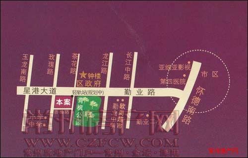 凯尔枫尚位置图