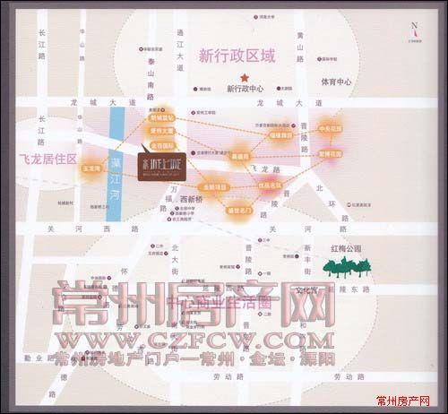 金梅花园位置图
