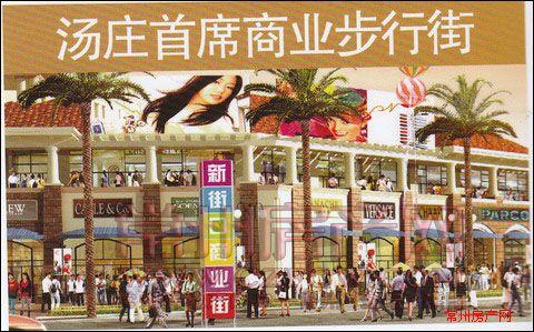 罗溪汤庄农贸中心楼盘图