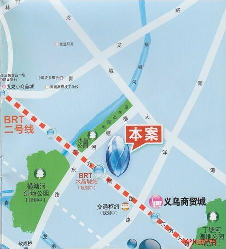 水晶城位置图