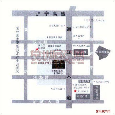 道生中心位置图