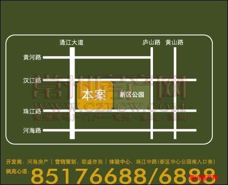 吟枫苑位置图