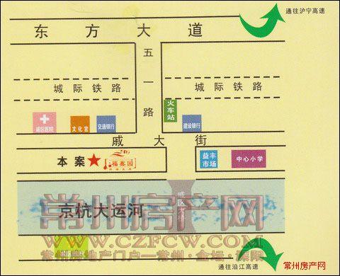 福鑫园位置图