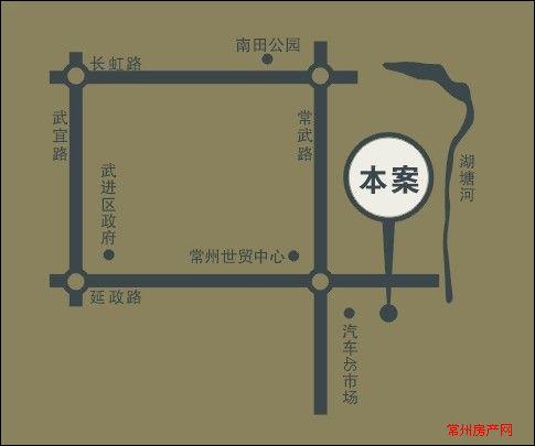 万泽国际位置图