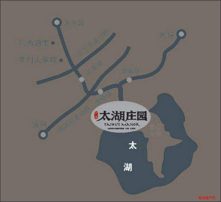 万泽太湖庄园位置图