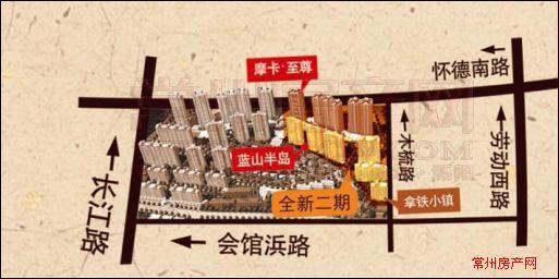 香江华廷位置图