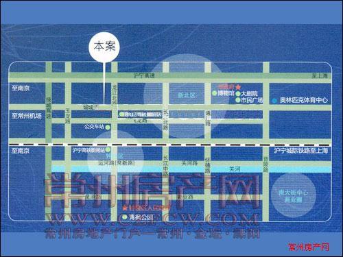 绿地世纪城位置图