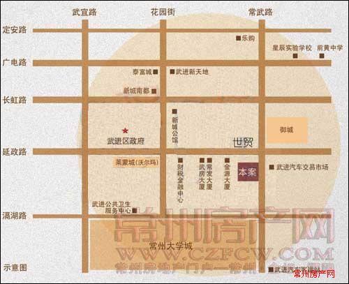 旺府公寓位置图