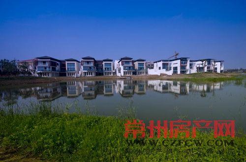江苏常州太湖庄园第一座岛上联排别墅在售