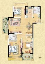 3室2厅2卫1厨A1型