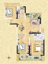 3室2厅1卫1厨C1型
