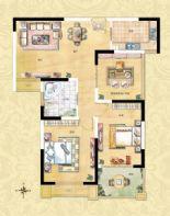 3室2厅1卫1厨