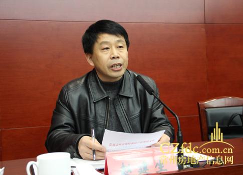 常州市住房保障和房产管理局副局长赵建生