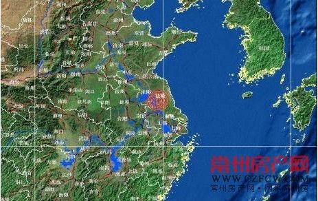 扬州昨发生4.9级地震 地震局常州地区震感明显