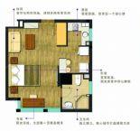 1室1厅1卫1厨D1型