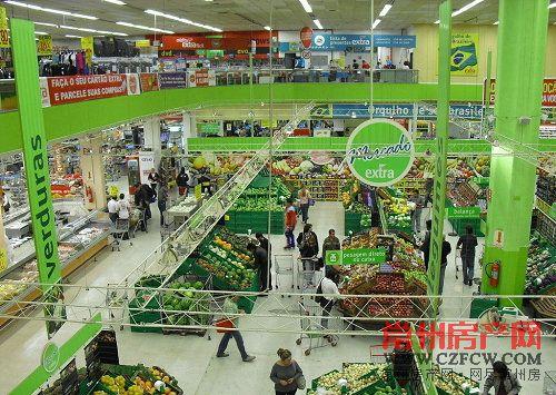 百货超市设计平面图