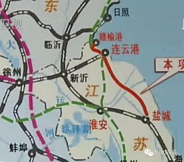 靖江到青岛高速地图