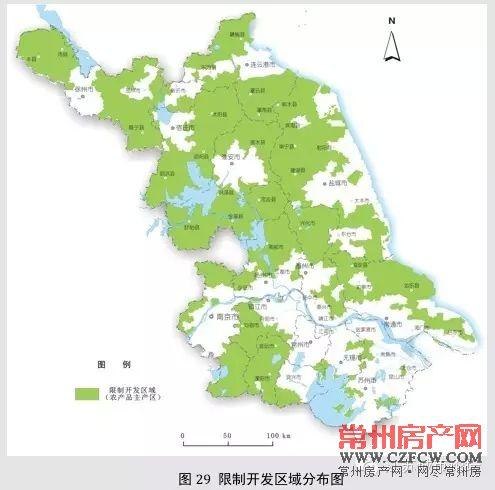 江苏省主体功能区规划和空间开发战略格局
