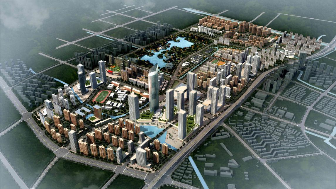 常州钟楼新城规划图